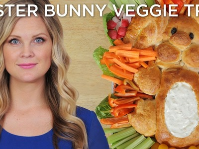 Easter Bunny Veggie Tray!!