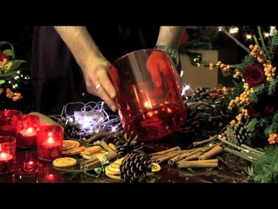 How to make a luxury Christmas centrepiece from One Aldwych, London