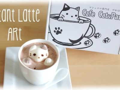 Instant 3D Latte Art - Fast & Easy Cafe Cat