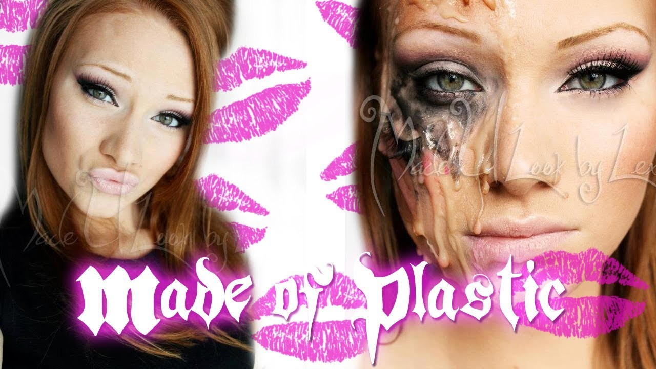 Made of Plastic Makeup Tutorial