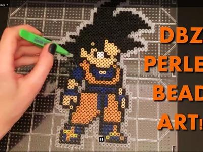 Perler Bead Goku Timelapse