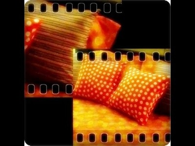 """PILLOW D.I.Y  """"MAKE YOUR OWN PILLOW  """" :D"""