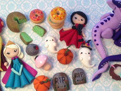 ✿  Polymer Clay Update #6  ✿