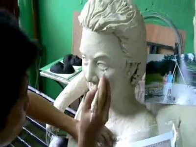 Sculpture Tutorial- Modeling Clay Preparation, Armature & Mold Making