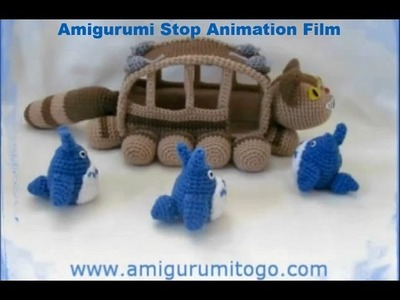 Totoro Stop Animation No Room On The Bus!