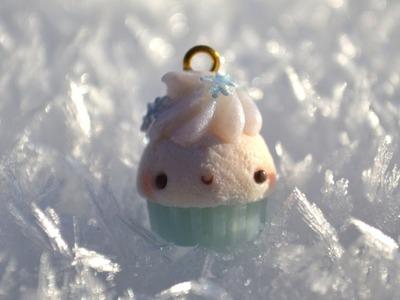 ❅ Winter Cupcake Polymer Clay Tutorial ❅