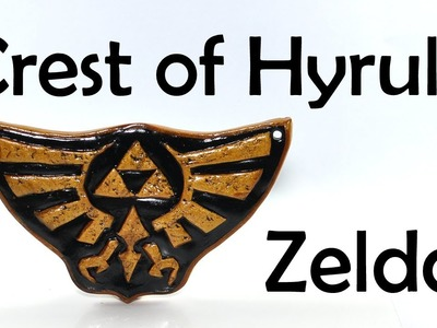 Zelda: The Crest of Hyrule - polymer clay TUTORIAL