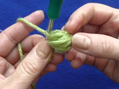 Branch with Puff stitch  2 methods
