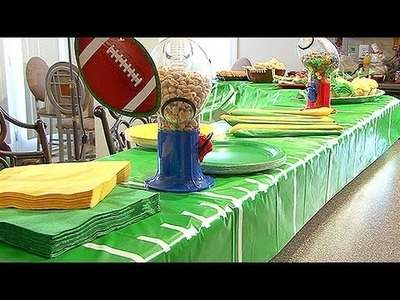 Decorating Tips For A Football Party
