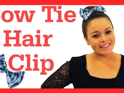 DIY Bow Hair Clip + Life Hack for Shiny Hair! #17daily