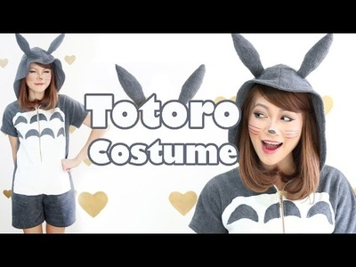 ➳ DIY: Totoro Hoodie Costume