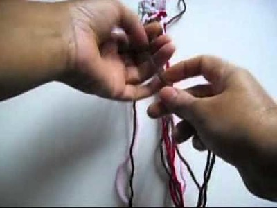 How To Make a Friendship Bracelet with Hearts
