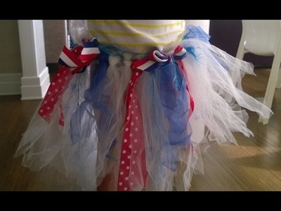 How to Make a No-Sew DIY Skirt for the 4th of July