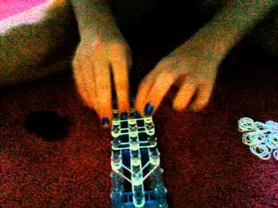 How to make a rainbow loom ghost charm