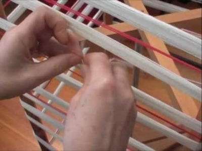 How to tie a Skein of yarn