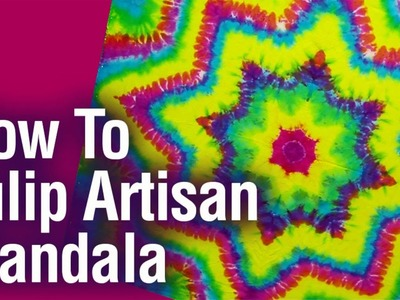 How to Tulip Artisan Mandala