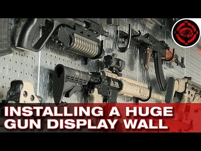 Installing a Huge Gun Display Wall