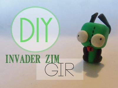 Invader Zim Gir Tutorial [Polymer Clay]