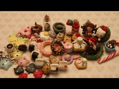 Polymer Clay Charm Update #8: Christmas Edition