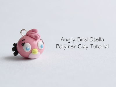 Polymer Clay Tutorial: Angry Bird Stella
