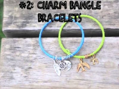 Quick & Cute DIY Stackable Bracelets! youtube original