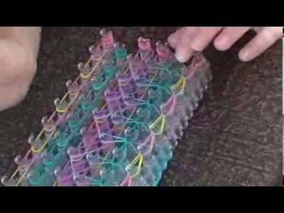 Rainbow Loom - How to Make a Double Raindrop Bracelet