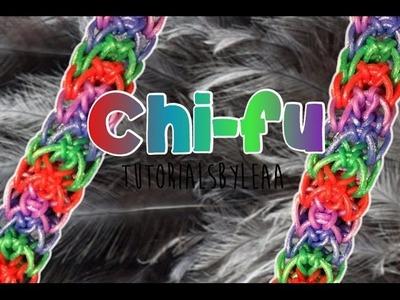 Rainbowloom Chi-Fu bracelet tutorial