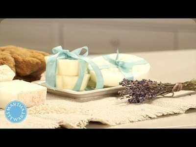 Soothing Lavender Soap - Handmade Home - Martha Stewart