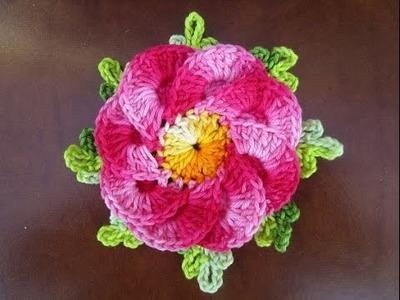 Uncinetto crochet fiore