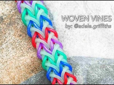 WOVEN VINES Hook Only bracelet tutorial