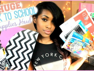 Back to School Supplies Haul! 2014-15