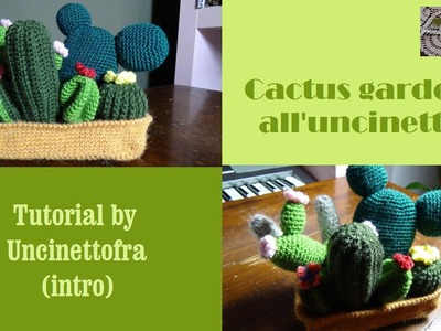 Cactus garden all'uncinetto tutorial (intro)