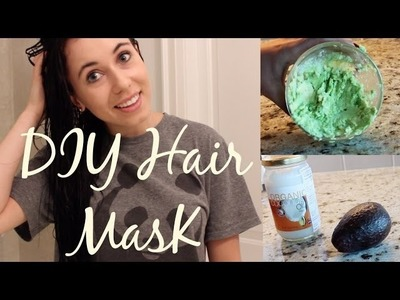 DIY Hair Mask: Avocado & Coconut!