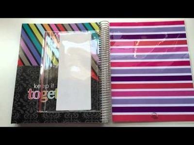 Erin Condren: Deluxe Notebook Open Box & Review