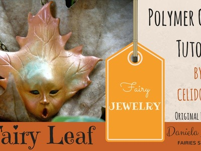 Fairy Leaf. Polymer Clay Tutorial