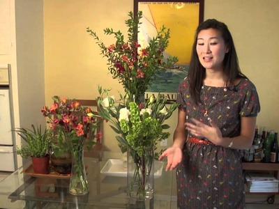 Home Décor: Using Flowers