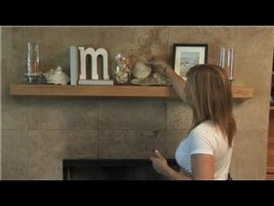 Home Decorating  : How to Decorate a Fireplace Mantle for Summer