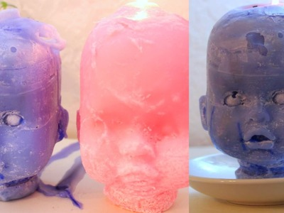 How I Made My Baby Doll Head CANDLE!