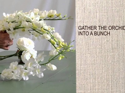 How To Make a Cascading Bouquet