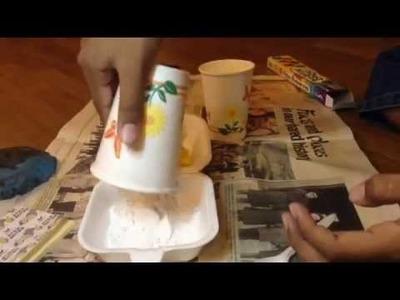 How to make a Plaster of Paris Casting