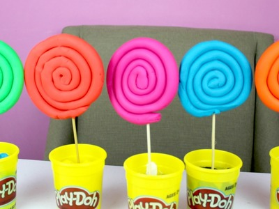 How To Make Giant  Play Doh Lollipops Tuesday Play Doh  B2cutecupcakes