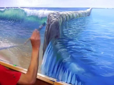 How To Paint Pool Water - Mural Joe