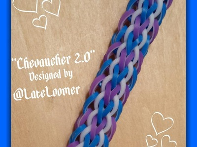 "New ""Chevaucher 2.0"" Hook Only RL Bracelet.How To Tutorial"