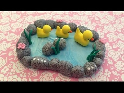 Polymer Clay Duck Pond Tutorial