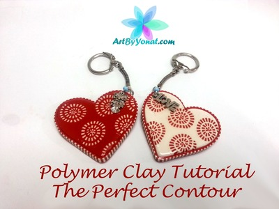 Polymer Clay Tutorial - How to Make The Perfect Contour - Lesson #11
