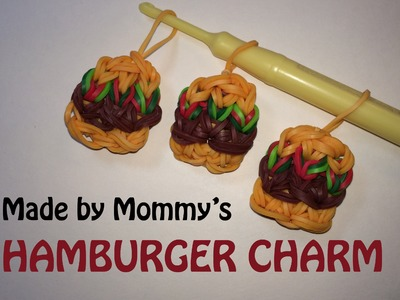Rainbow Loom Charms: Hamburger