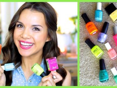 Spring + Summer Nail Polish Favorites! ♥ Makeup MAYhem Day 6 2013