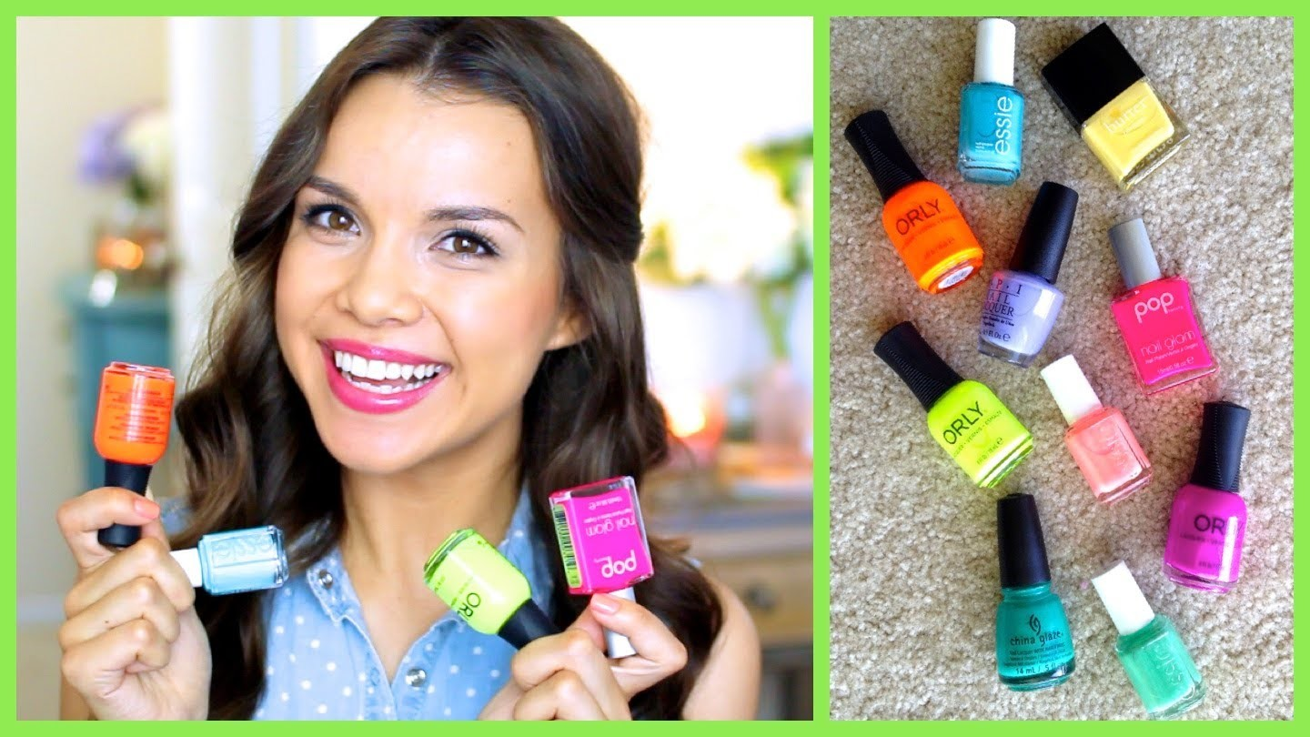 Spring + Summer Nail Polish Favorites! ♥ Makeup MAYhem Day 6 2013