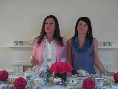 Tips for Setting A Mother's Day Tea Party Table