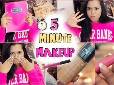 5 Minute Makeup - Quick & Easy!